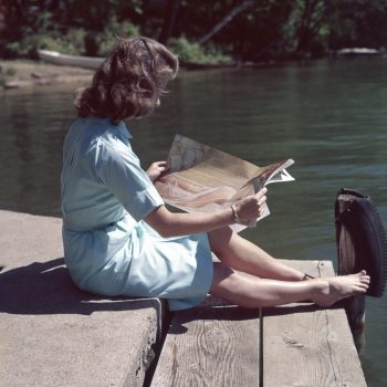 Woman Reading This Week's Best Money Reads