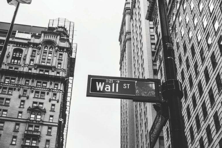 Wall Street In Black & White