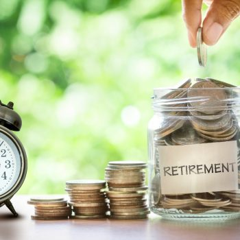 Change jar for retirement investment