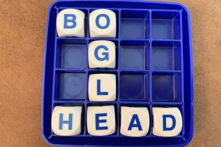 boglehead on boggle board
