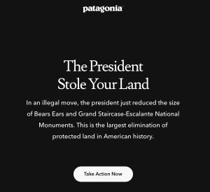 Patagonia The President Stole Your Land