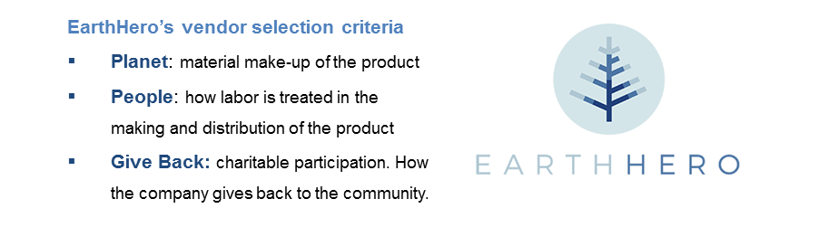 EarthHero selection criteria
