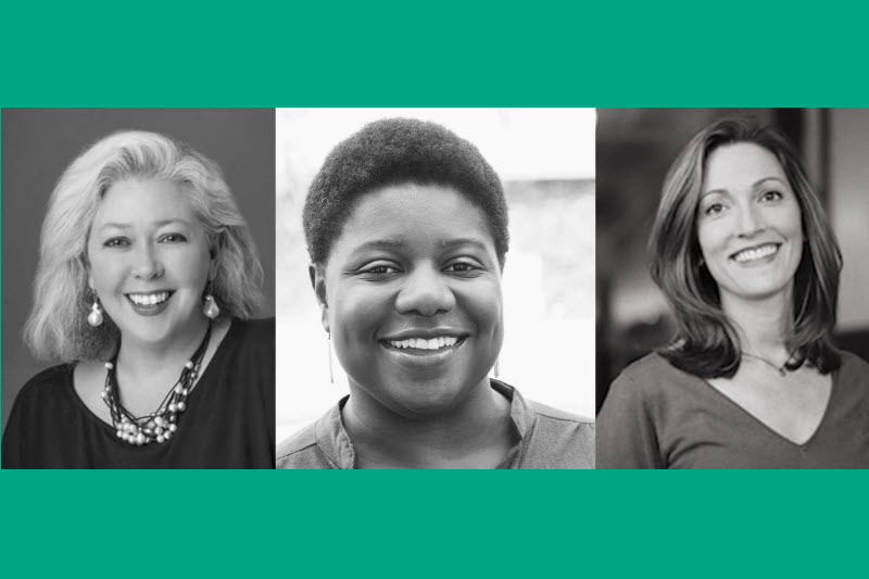 Picture of 3 women who are pioneers in impact investing
